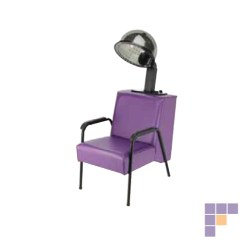 Dryer Chairs Salon Reupholster Leather Chair To Fabric Pibbs 1098 Open Base Roll Over The Image View It