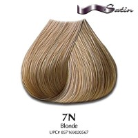 Satin Hair Color #7N Blonde | Hair Coloring | Satin Hair ...
