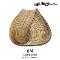 Satin Hair Color #8N Light Blonde | Hair Coloring | Satin ...