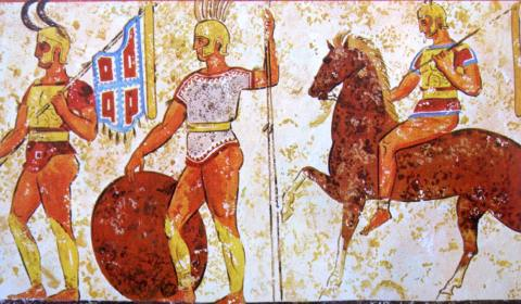 """""""Lo sapevate che?…"""", rubrica dell'associazione """"Ridiamo vita al Castello"""": Molto prima che il castello nascesse Nocera fu a capo della Confederazione Sannitica Meridionale, comprendente Pompei, Ercolano, Stabia e Sorrento."""