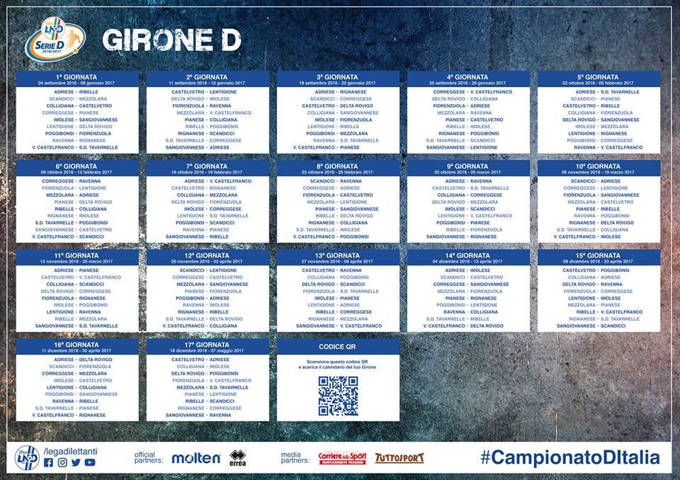 Serie D Girone D Calendario.Uno Sguardo Al Calendario Domenica Dopo Domenica Tutti Gli