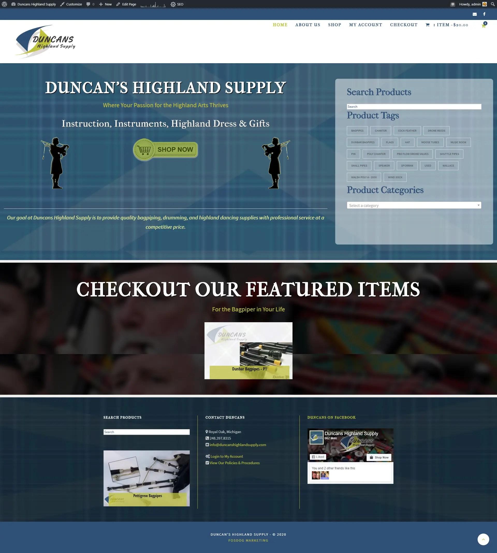 Duncans Highland Supply