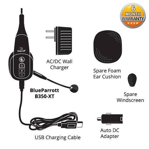 Plantronics VXi BlueParrott B350-XT Headset
