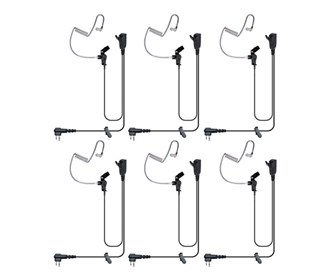 Signal Split-Wire Earpiece (6-Pack)
