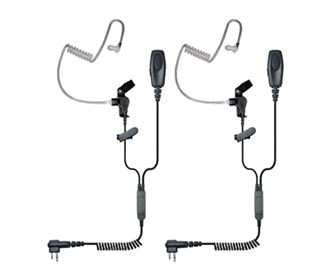 Patriot 2-Wire Surveillance Earpiece (2-Pack)