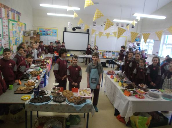Bake Sale in 4th Class 2018 - 01