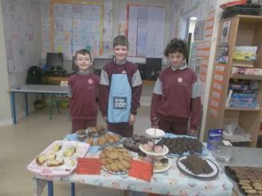 Bake Sale in 4th Class 2018 - 06