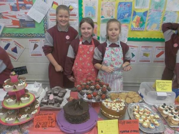 Bake Sale in 4th Class 2018 - 12