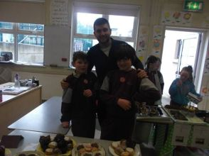 Bake Sale in 4th Class 2018 - 18