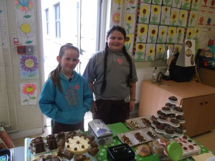Bake Sale in 4th Class 2018 - 21