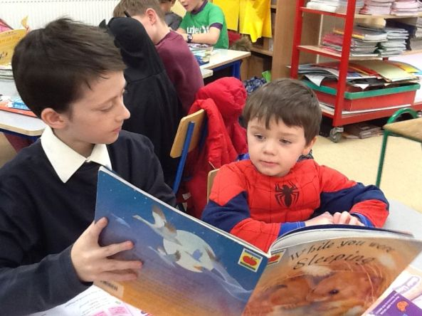 Paired Reading (Juniors) 2018 - 09