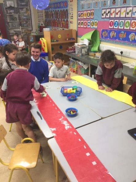 Team Teaching Junior Infants 2018 - 02