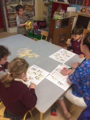 Team Teaching Junior Infants 2018 - 09