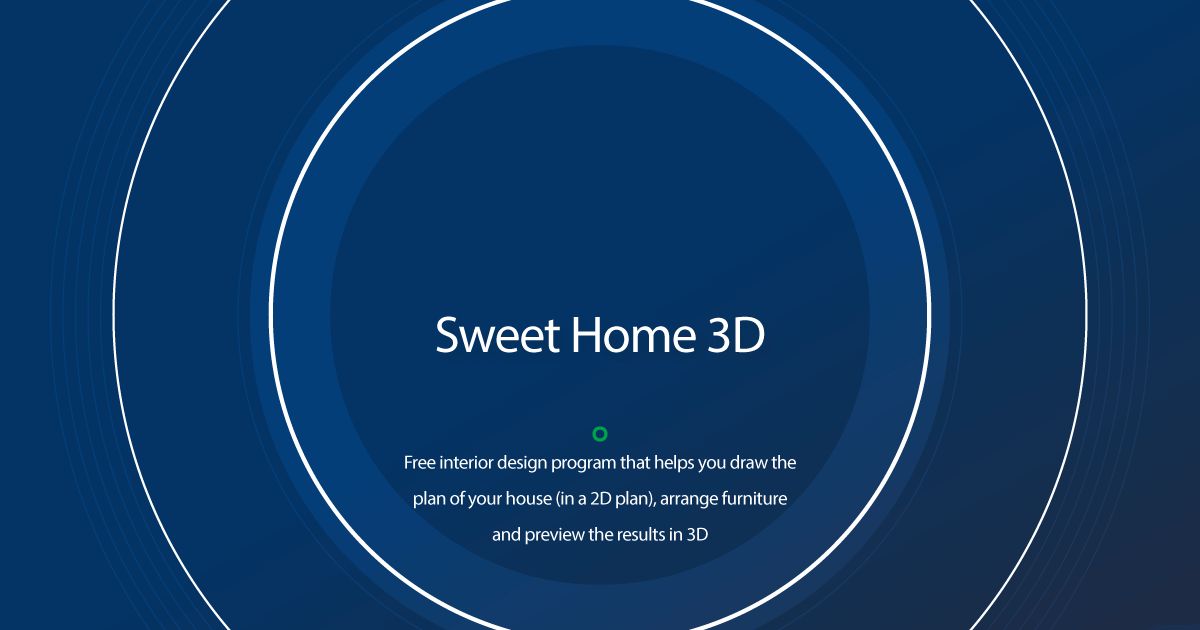 Sweet home 3d is a free interior design application that helps you placing your furniture on a house 2d plan, with a 3d … Download Sweet Home 3d Older Versions
