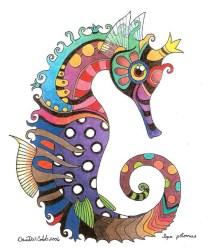 Seahorse by David Cobb