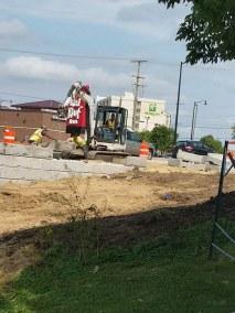 Bell School Retaining Wall