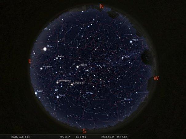 Stellarium - Planetarium Software
