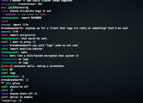 ssh-chat - Segurança de Chat no Terminal