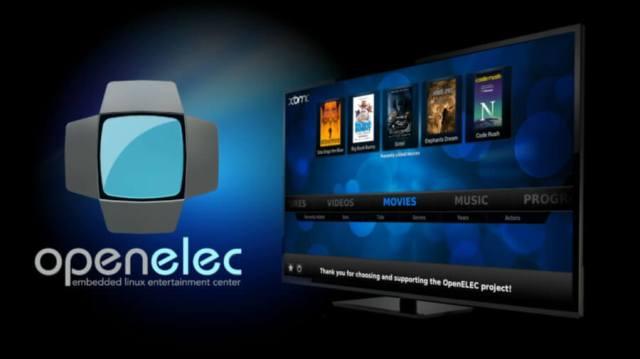 OpenELEC Mediacenter per Raspberry Pi