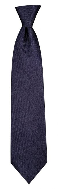 Plain Lace Tie - Navy - Foster Barry