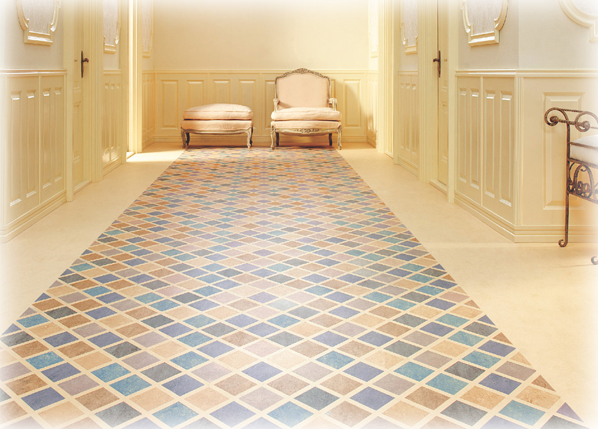 Linoleum is offered by Foster Flooring as a healthy