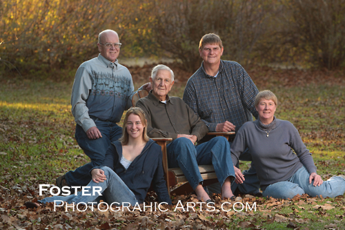 Cupp family outdoor portrait