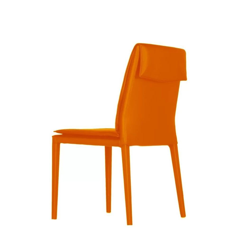 orange side chair barber chairs wholesale fosters furniture bellini modern daisy picture of