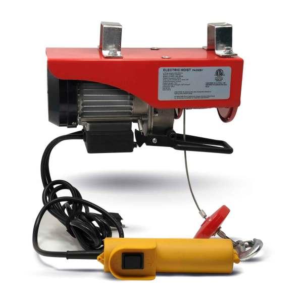 Lb Overhead Electric Hoist Crane Lift Garage Winch Withremote 110v Five 660745014009