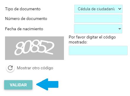 formulario de solicitud de certificado Emssanar