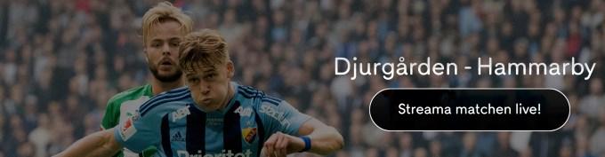 Djurgårdens IF vs Hammarby IF stream