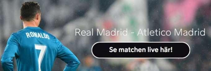 Real Madrid Atletico Madrid live stream