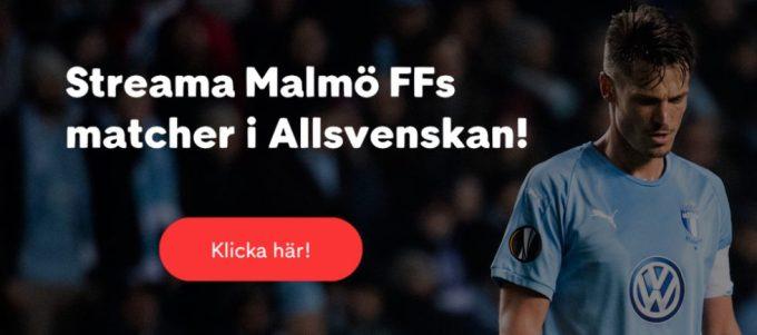 Östersund Malmö FF stream 2019
