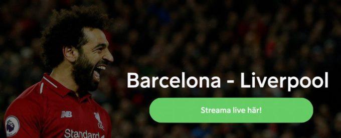 Streama FC Barcelona Liverpool live stream gratis: se Barca Liverpool live!