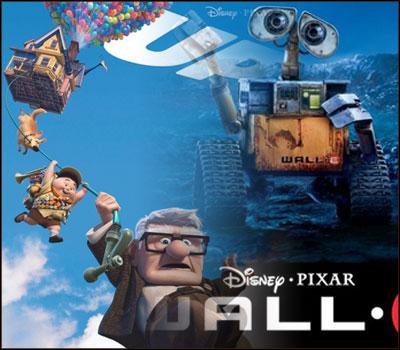 Wall-E Up Disney Pixar
