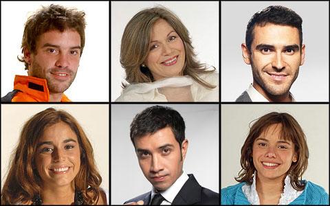 Solange Lackington Diego Muñoz Pablo Cerda Ignacia Baeza Héctor Morales María Gracia Omegna Canal 13 Martín Rivas TVN