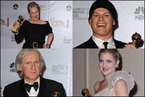 Globos de Oro Golden Globes 2010
