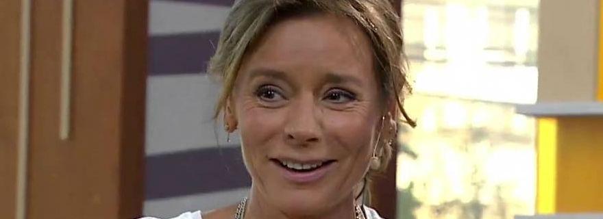 El grosero chascarro de Kathy Salosny en plena transmisión de programa especial de Mega