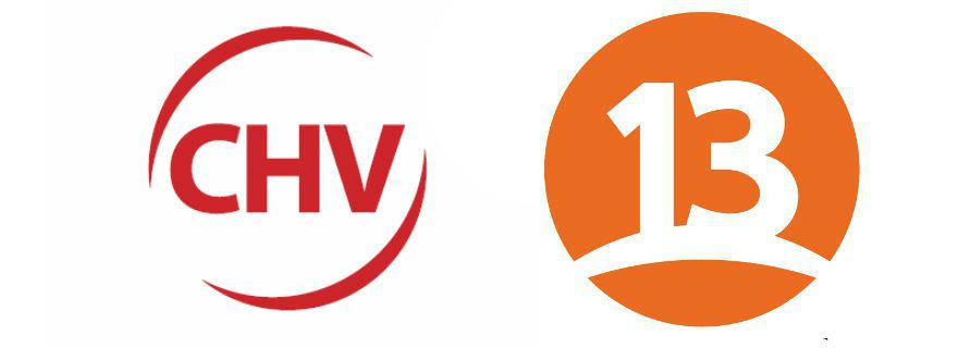 Canal 13 y CHV empatan en el segundo lugar de sintonía durante noviembre