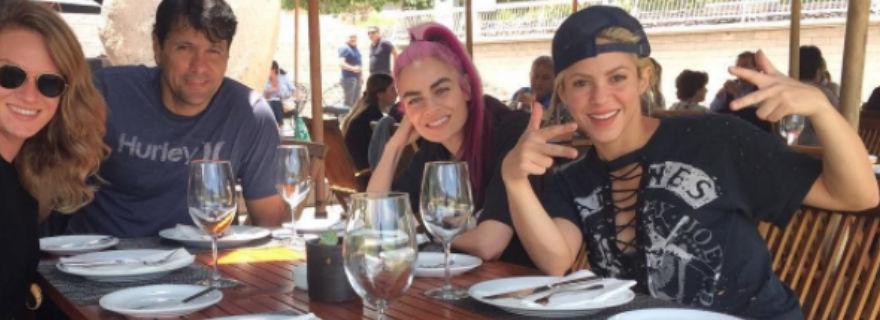 Marcela Vacarezza avisó: Shakira está en Chile y nadie se dio cuenta