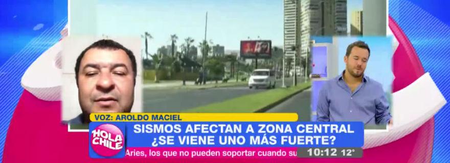 """La pregunta del """"Hola Chile"""" a experto de la Onemi que desató la polémica"""