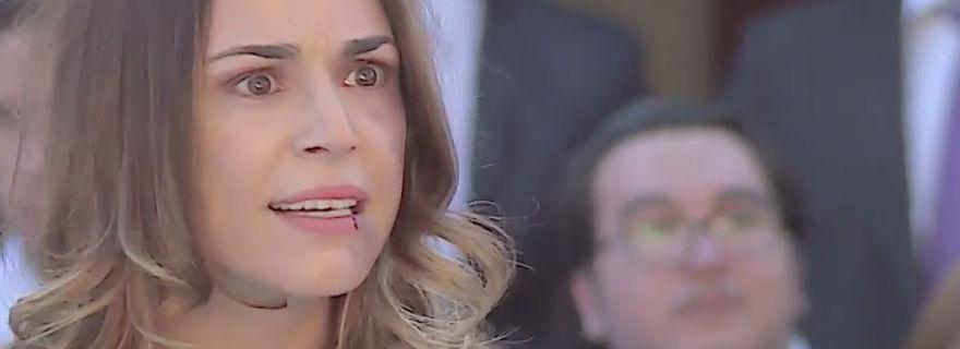 """¡Los desenmascaró frente a todos!: la escena de """"Amanda"""" que impactó a los televidentes"""