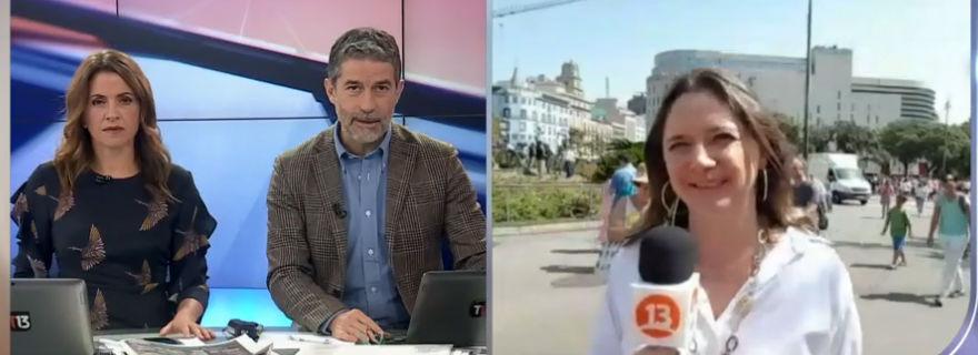 La situación contractual de Mónica Pérez tras su sorpresiva aparición en Canal 13