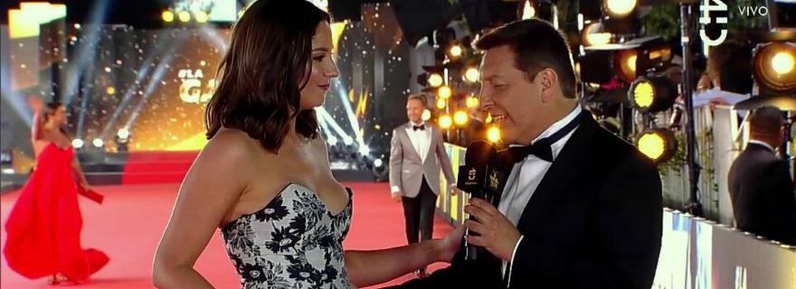 Julio César Rodríguez golpea la mesa por las críticas que lo acusaron de mirar más de la cuenta en la Gala de Viña 2018