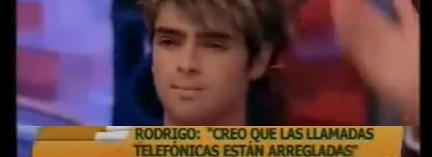 Recuerdo: Rodrigo Cruz denuncia en pantalla que las votaciones ...