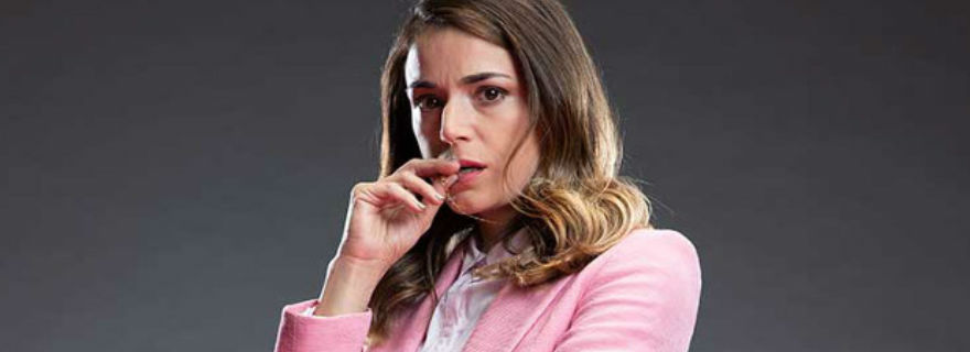 """""""Queen Trini"""": Ignacia Baeza ganó el Premio Caleuche a Mejor Actriz de Teleseries"""