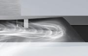 Pressurization of filtered grease at smoke chamber