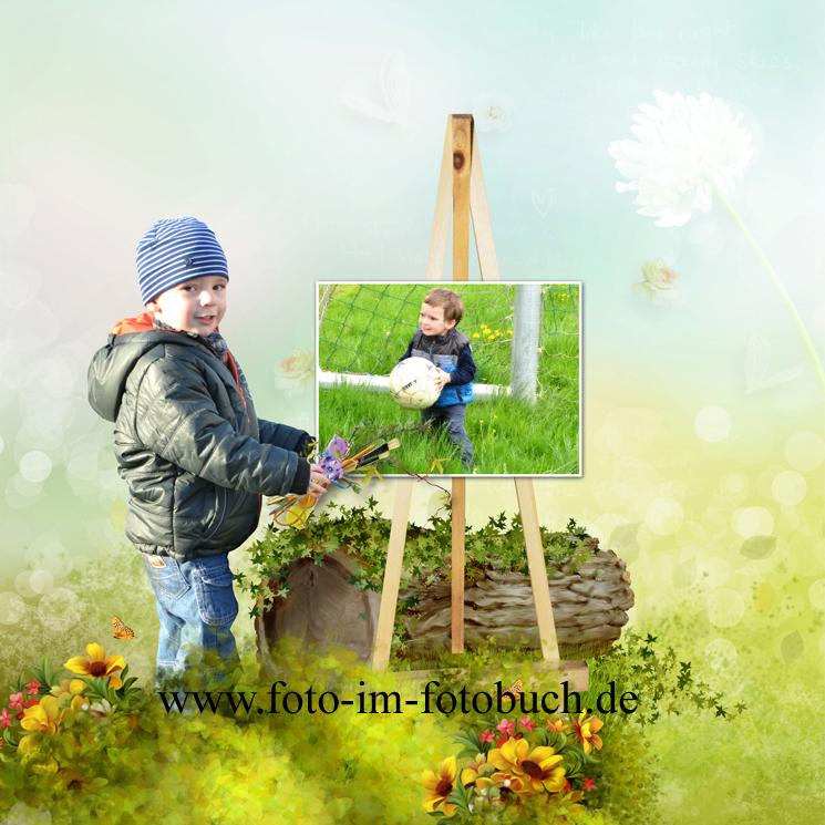 Fotocollage mit Kind  Willkommen in der Welt der Fotobcher
