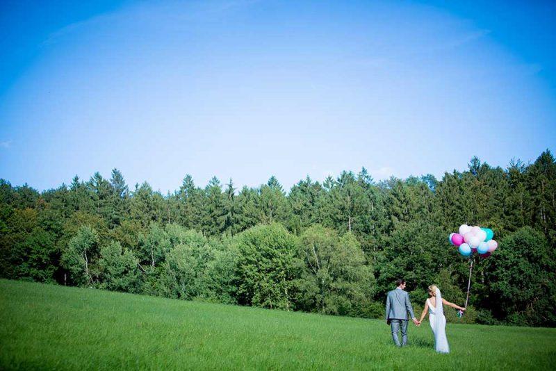 Hochzeitsshooting rund um Wiesbaden auf dem Kellerskopf bei Naurod