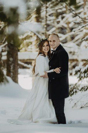 Tatry-Słowacja-Zima-Sesja-Ślubna-27