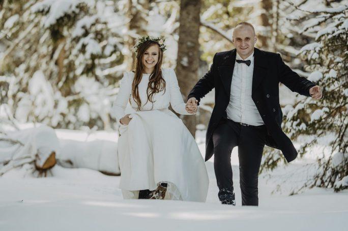 Tatry-Słowacja-Zima-Sesja-Ślubna-28